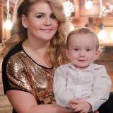 портрет мамы с малышом
