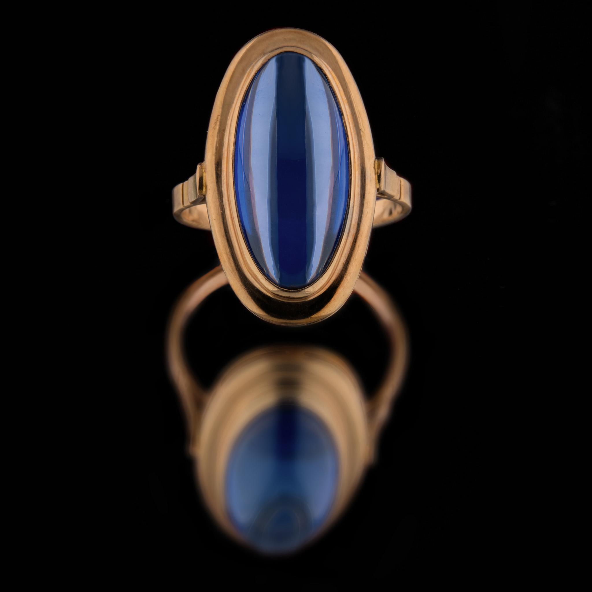 Перстень. Фотосъемка на зеркале. Предметы для сайтов