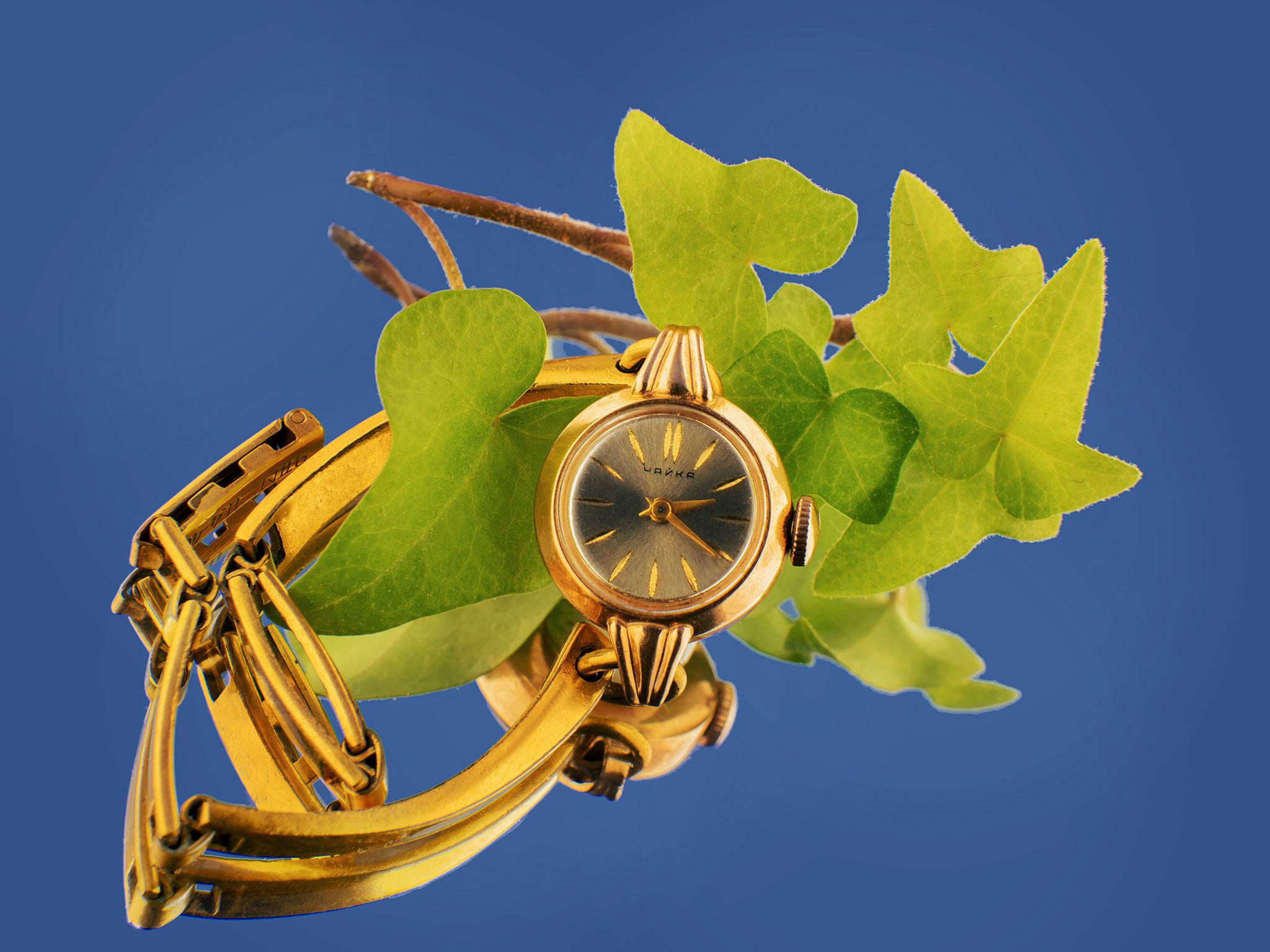 Старые часы. Ювелирная фотосъемка