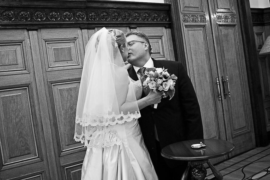 свадебная фотосъемка в чб