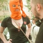 Рассказ очевидца. Не санкционированный митинг вокруг Pussy Riot. Новости…