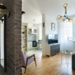 Дизайн квартиры из двух комнат