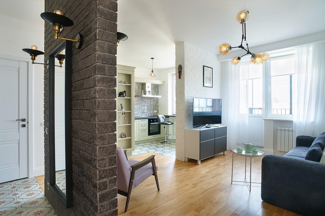 Интерьерная фотосъемка квартиры для дизайнера