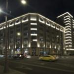 Авангардная архитектура Москвы. Лубянка. Архитектурная фотография
