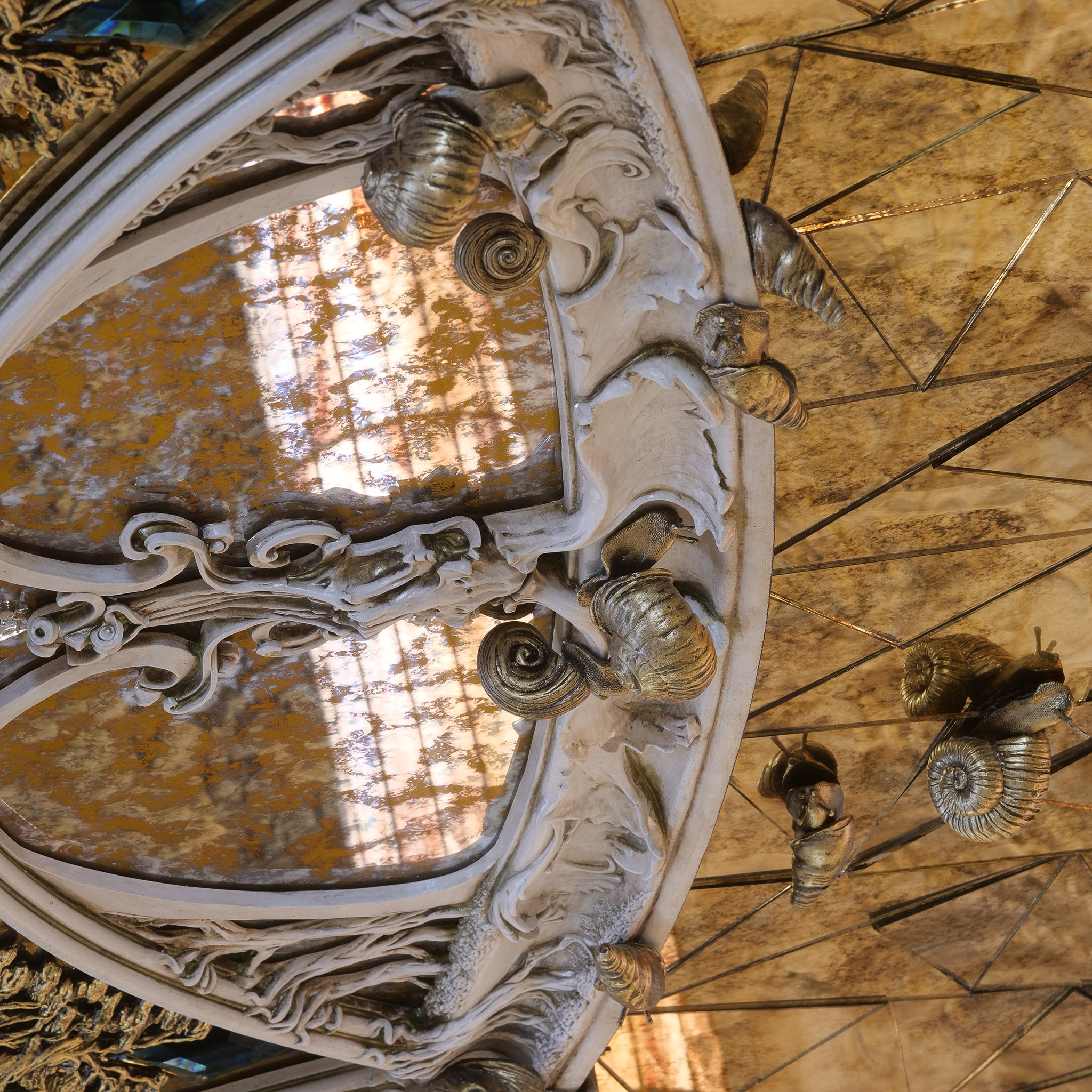 stained glass windows. work of a professional photographer for architectural firms