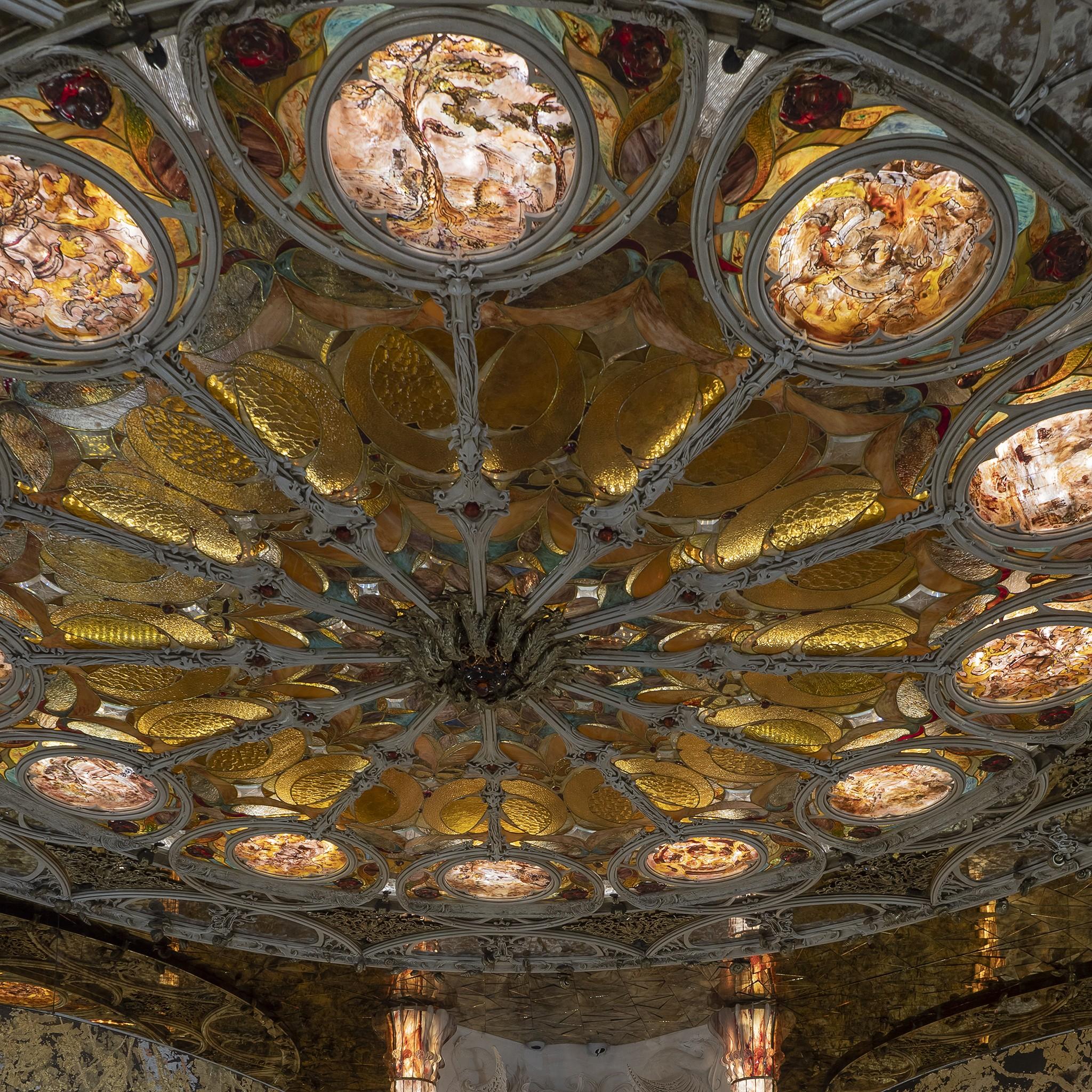 фотосъемка потолка для портфолио архитектора
