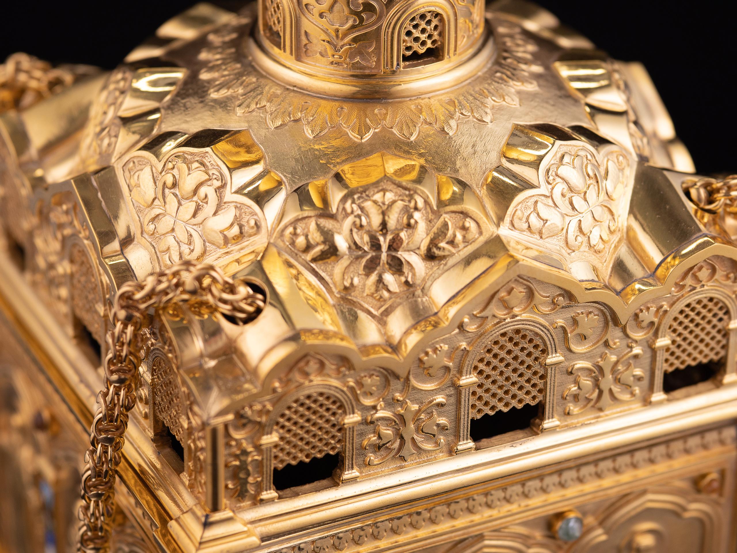 Фотографии ювелирных изделий. Кадило. Галерея фотографа