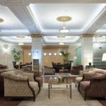 Гостиница в Москве. Фотосъемка интерьера холла.