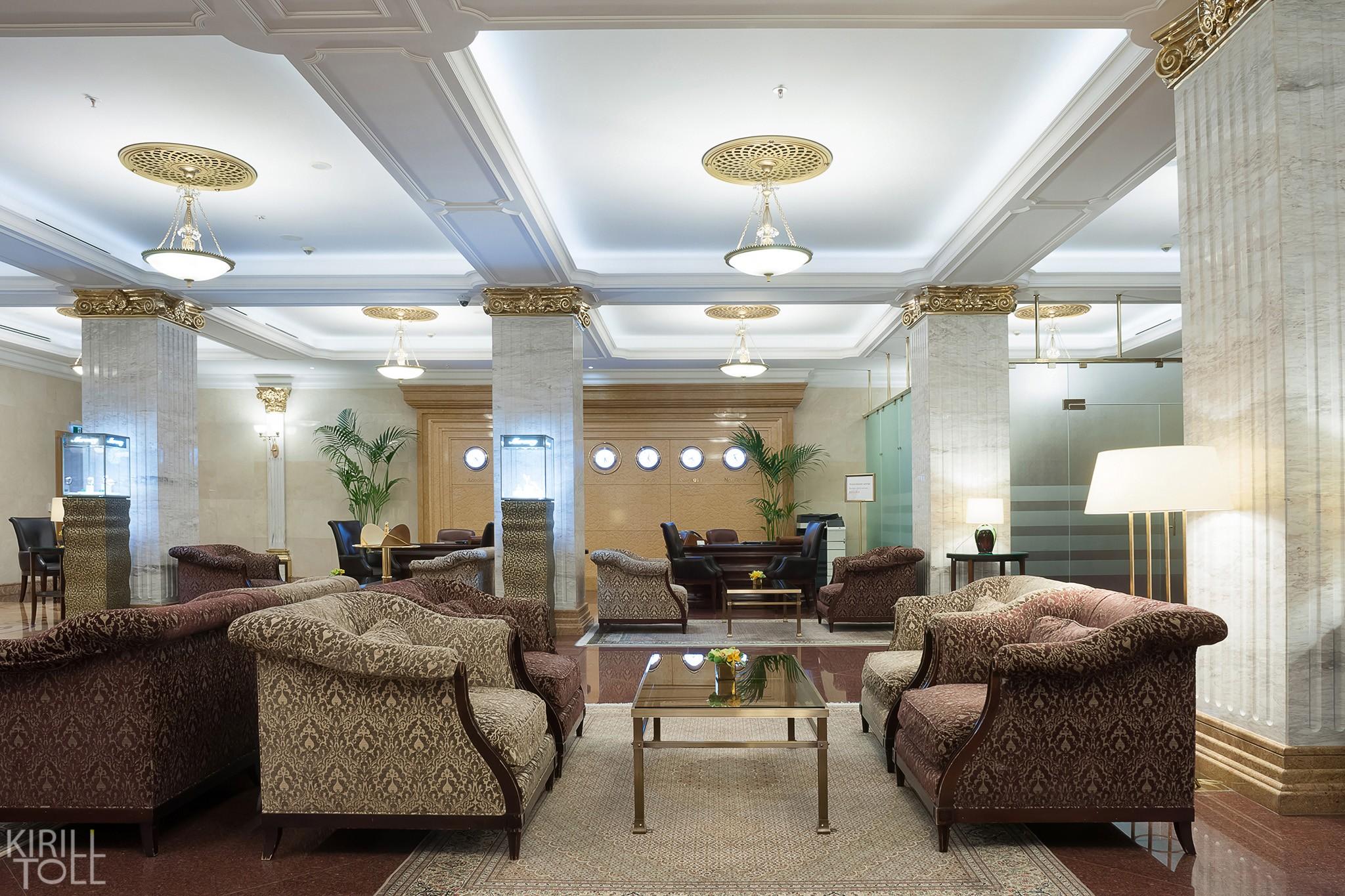 Холлы гостиницы в портфолио фотографа