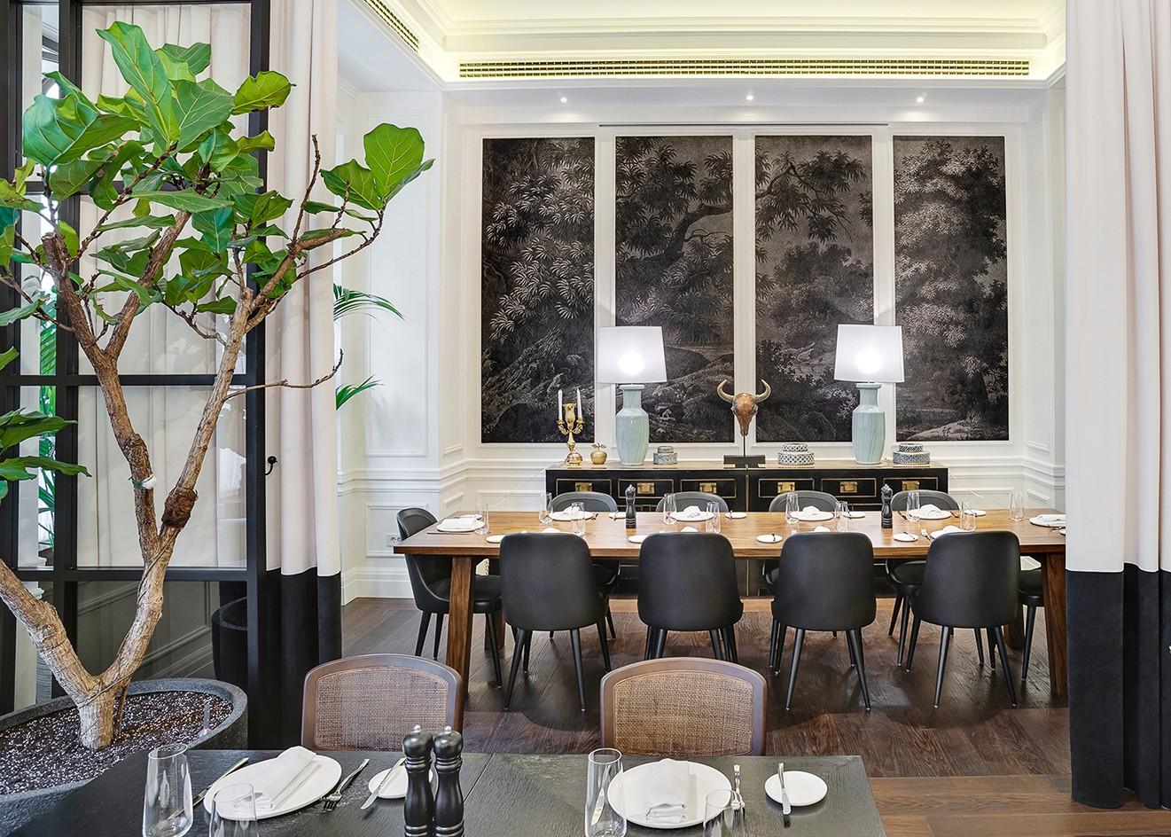 4 зала одного ресторана. Интерьерная фотосъемка