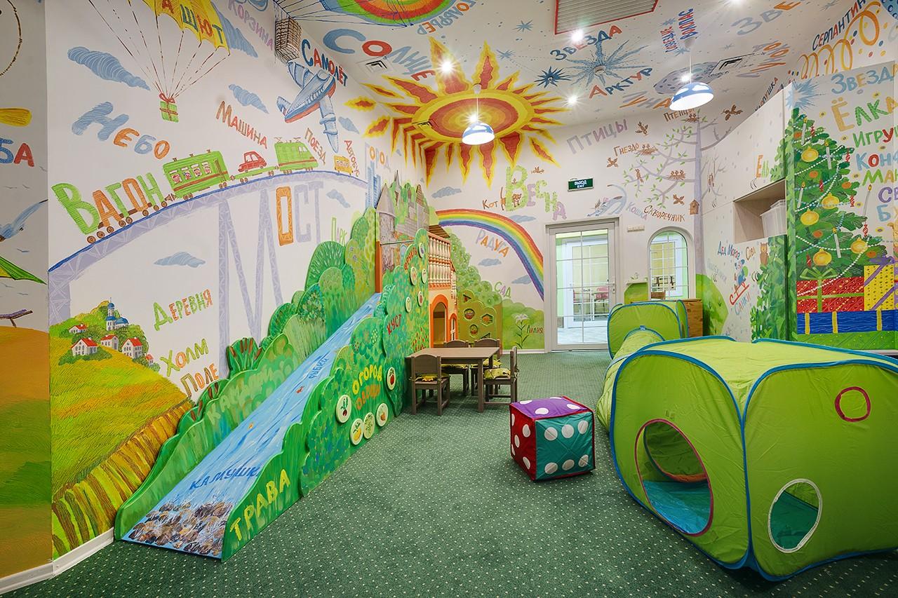 Игровые зоны для детей. Интерьерная съемка